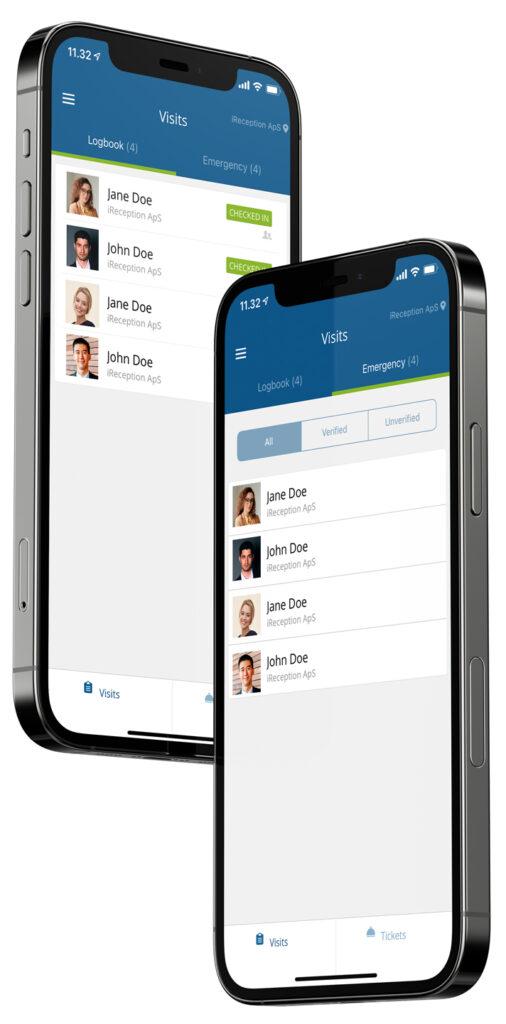 Gæsteregistrering App